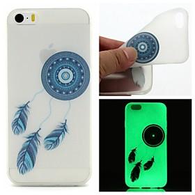 $Για Θήκη iPhone 6 / Θήκη iPhone 6 Plus Λάμπει στο σκοτάδι / Με σχέδια tok Πίσω Κάλυμμα tok Ονειροπαγίδα Μαλακή TPUiPhone 6s Plus/6 Plus /