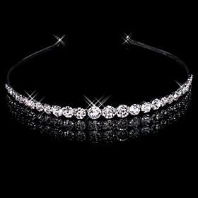 Women's Alloy Headpiece-Wedding Headbands 1 Piece