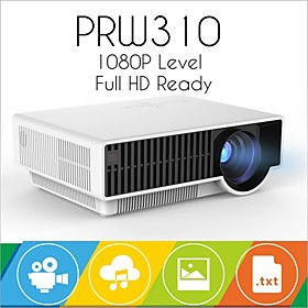 W310 1280768 LED projector lcd 2800 Lumen Full HD home theater Beamer Proyector HDMI USB Audio in RCA VGA