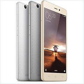 XIAOMI Redmi 3 5.0 Android 5.1 4G Smartphone (Dual SIM Octa Core 13 MP \/ 21 MP 2GB 16 GB Silber \/ Gold)
