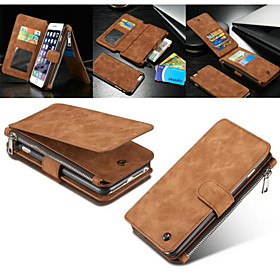 Case For Apple iPhone 8 iPhone 8 Plus iPhone 5 Case iPhone 6 iPhone 6 Plus iPhone 7 Plus iPhone 7 Card Holder Wallet with Stand Flip