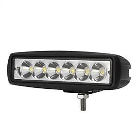 1800lm мини 6 дюймов 18w 12v Cree LED пятно света работы автомобиля-бар Подсвет