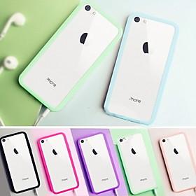 $μεγάλη δ σαφές πίσω ακρυλική θήκη για το iPhone 5γ