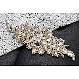 Image of Alloy Wedding / Party/ Evening / Dailywear Sash-Sequins / Beading / Crystal / Rhinestone Women's Sequins / Beading / Crystal / Rhinestone