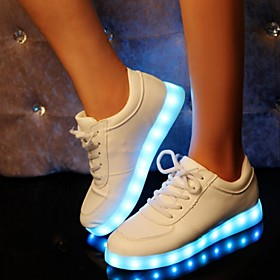 8 Colors LED Luminous Shoes Men Women Unisex Couple Sneakers Fashion Casual Flat Led Shoes Usb Charging
