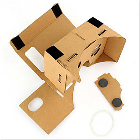 Cardboard VR Virtual Reality Glasses Storm Mirror DIY Kit  Unisex VR Glasses 4812735