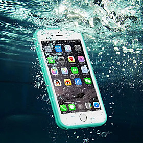 Case For Apple iPhone 8 iPhone 8 Plus iPhone 6 iPhone 6 Plus iPhone 7 Plus iPhone 7 Water Resistant Transparent Full Body Cases Solid