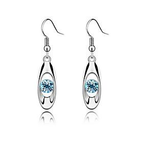 Luxury Austria Crystal Drop Earrings for Women Sample Earrings Fashion Jewel..