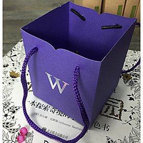 6 Piece/Set Favor Holder-Cubic Card Paper Favor Bags Non-personalised