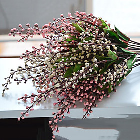 1 Branch Polyester Fruit Tabletop Flower Artificial Flowers