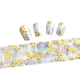 1PCS New 100x4cm  Mixed Nail Art Foils  Glitter Design  Nail Art DIY  Decorations  Sticker STZXK36-40