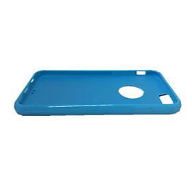 Coque Pour iPhone 6s Plus / iPhone 6 Plus / iPhone 6s iPhone 6 Plus / iPhone 6 Coque Couleur Pleine Flexible Silicone pour iPhone 6s Plus / iPhone 6s / iPhone