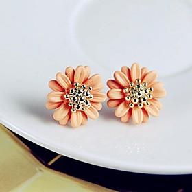 KAILA Fashion Intersect Water-drop Shape Diamante Rhinestone Drop Earrings