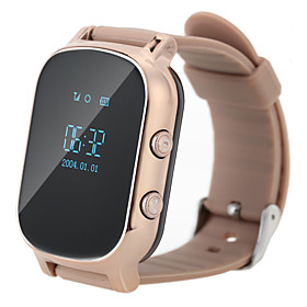 Gps Tracker Smart Watch Phone Call Sos Wristband Gsm Wifilbs Wristwatch Intelligent Monitor Alarm For Kid Elderly