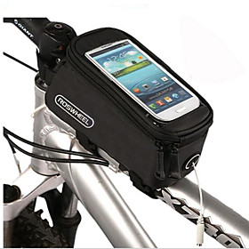 Bike Frame Bag Cell Phone Bag 4.2/4.8/5.5 inch Touch Screen Multifunctional Skidproof Cycling for iPhone X Other Similar Size Phones