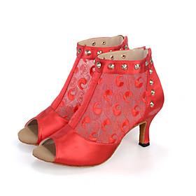 Customizable Women's Dance Shoes Belly / Jazz / Dance Sneakers / Modern / Swing Shoes / Synthetic Flared Heel