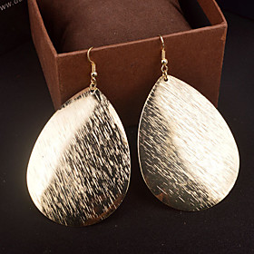 Women's Hollow Out Drop Earrings - Statement, Personalized Silver / Golden For Wedding Party Daily