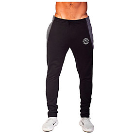 Running Pants/Trousers/Overtrousers / Bottoms Men's Breathable / Sweat-wicking Polyester Exercise  Fitness / Leisure Sports / Running