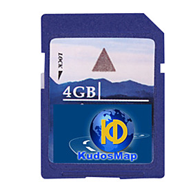 KUDOS GPS Navigation Map (4/8G SD Card for WinCE System)