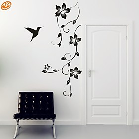 AYA™ DIY Wall Stickers Wall Decals, Flower Vine PVC Wall Stickers