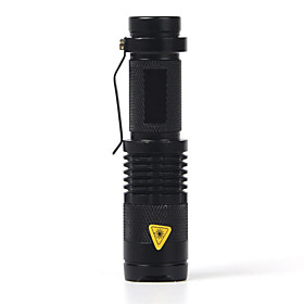 2000 lm LED Flashlights / Torch Cree XR-E Q5 1 Mode SK68 - Zoomable / Waterproof / Adjustable Focus