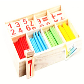 Montessori Teaching Tool Math Toy Educational Toy Toys Eco-friendly Education Wood Classic Pieces Children's Gift