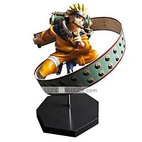 Anime Action Figures Inspired by Naruto Naruto Uzumaki PVC 23 CM Model Toys Doll Toy 4909292