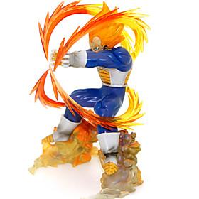 Dragon Ball Z Super Saiyan Vegeta 15CM Anime PVC Action Figure Collection Model Toys