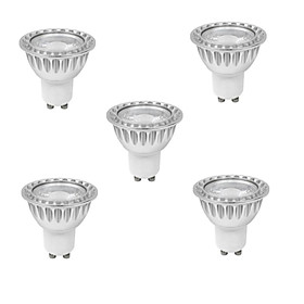 10W GU10 LED Spotlight MR16 1 COB 400 lm Warm White / Cool White Dimmable AC 220-240 V