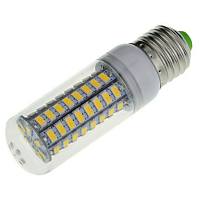 YWXLIGHT 1pcs E14/E26/E27 18W 72 SMD 5730 1650LM Warm/Cool White LED AC 220-240V
