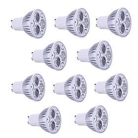 10pcs 9W GU10/GU5.3/E27/E14 900LM Warm/Cool Light Lamp LED Spot Lights(85-265V)
