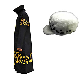 Inspired by One Piece Trafalgar Law Cosplay Costumes Sets (2Pcs) 4714430