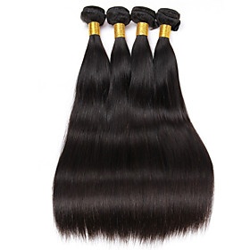 6A Brazilian Virgin Hair 4 Bundles 200g Straight Human Hair Virgin Brazilian Straight Hair