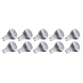 10pcs  5W GU10/GU5.3/E27/E14 5LEDS 550LM Light LED Spot Lights(90-260V)