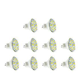 3W GU4(MR11) LED Spotlight MR11 12 leds SMD 5730 Warm White Cold White 250lm 3500/6000K DC 12V
