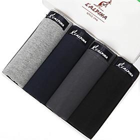 L'ALPINA Heren Katoen Boxer shorts - 21123
