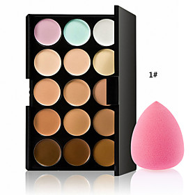 The New Hot Special Professional Makeup Base Palettes Cosmetic 15 COLOR Concealer Facial Face Cream Care Camouflage 4968521