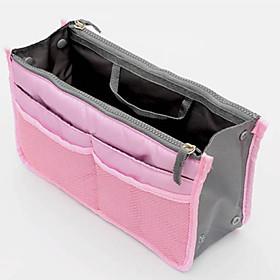 Women's Fashion Casual Multifunctional Mesh Cosmetic Makeup Bag Storage Tote Organizer Pink / Blue / Green / Orange / Gray / Multi-color