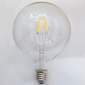 1 шт. kwb E26/E27 7W / 8W 8 COB 750 lm Тёплый белый G125 edison Винтаж LED ламп