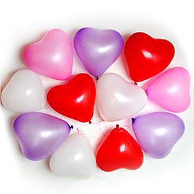 100pcs Heart Shape Balloons Occasions Wedding Birthday Party Decoration Supplies Ballon Party Decora