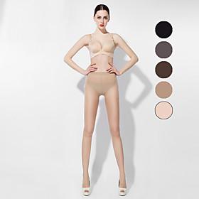BONAS Dames Solide Kleuren Dun Legging-B16585