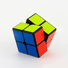 Yongjun Smooth Speed Cube 222 Speed / Professional Level Magic Cube Black / White Guanpo Anti-pop ABS