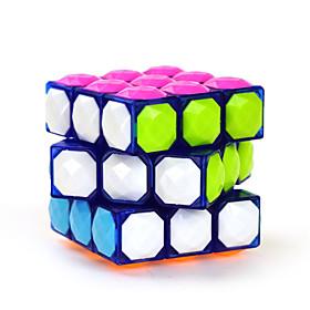 Yongjun Smooth Speed Cube 333 Diamond Magic Cube Blue ABS