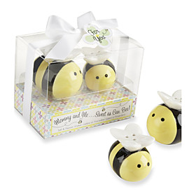 Recipient Gifts - Love Birds Salt and Pepper Shakers Wedding Favors 5054135