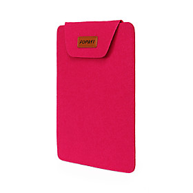 fopati 14inch Laptop-Tasche / Beutel / Hulse fur lenovo / mac / samsung lila / blau / rot / orange / pink / grau
