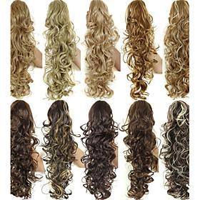 Black / Brown / Blonde / Natural Black / Dark Brown / Medium Brown / Light Brown / Honey Blonde / Bleach Blonde / Strawberry/Bleach