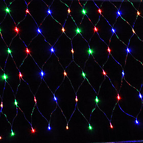3MX2M 200LED Home Outdoor Holiday Christmas Xmas Decorative Wedding Net Mesh String Fairy Curtain Garlands Party Light