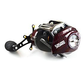 Fishing Reel Baitcast Reels 6.3:1 18 Ball Bearings Right-handed / Left-handed Bait Casting / Lure Fishing-BC150 SHISHAMO