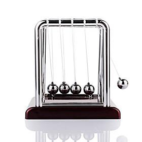 Mini Desktop Newton's Cradle Classic Newtons Cradle Balance Balls Science Psychology Puzzle Desk Toy 368009