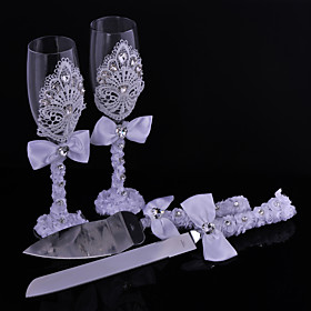 Sarel Spleenwort Herb Lace Cups Knife And Fork Combination 5097870